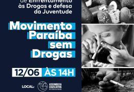 Governador João Azevêdo sanciona lei que estabelece junho como Mês de Enfrentamento às Drogas na PB