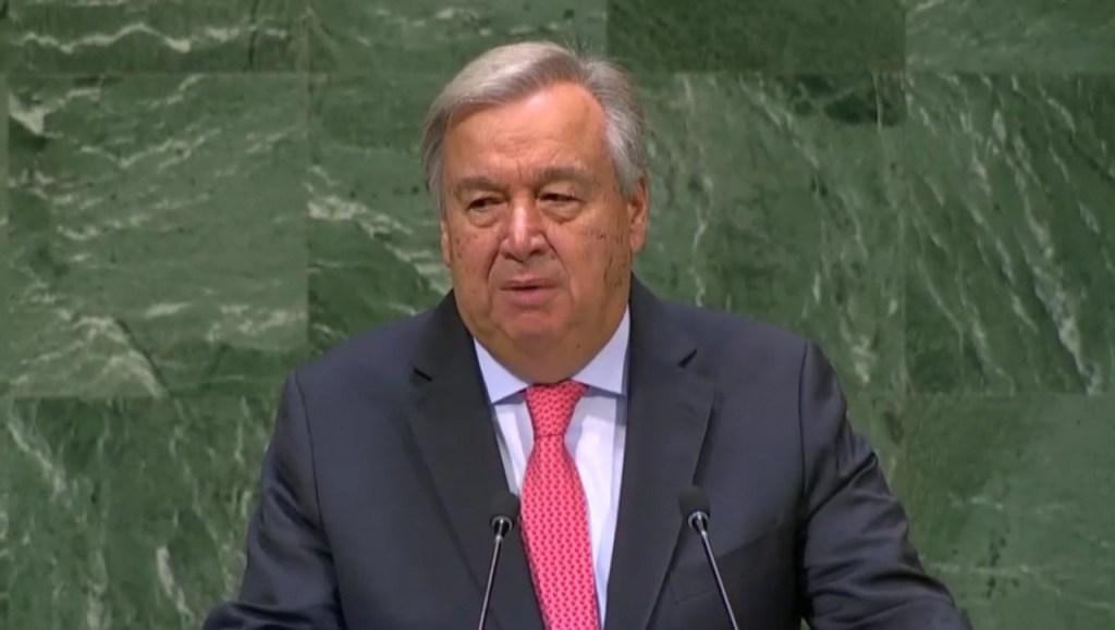 guterres 1024x579 - ONU pede 'nervos de aço' para evitar conflito entre EUA e Irã