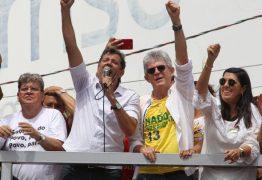 Haddad irá realizar caravana na Paraíba e deve almoçar com Ricardo Coutinho