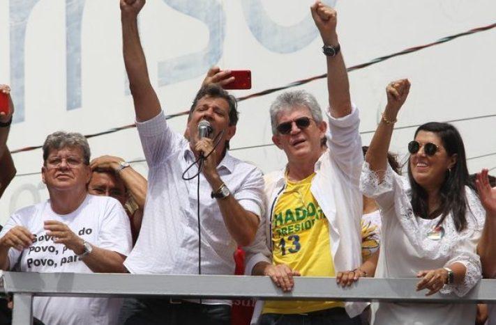 haddad ricardo joao e1560366601735 616x405 300x197 - Haddad irá realizar caravana na Paraíba e deve almoçar com Ricardo Coutinho