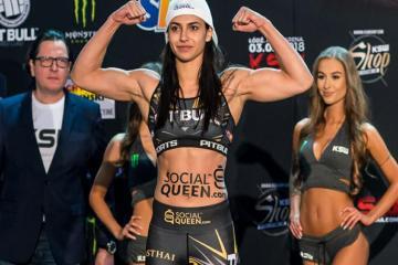 lipski - PROMESSA BRASILEIRA: Ariane projeta primeira vitória no UFC
