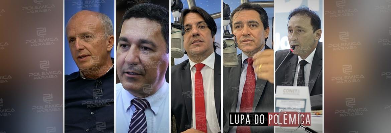 LUPA DO POLÊMICA: Quanto ganham e quem são os secretários da Paraíba? – CONFIRA TABELA COMPLETA