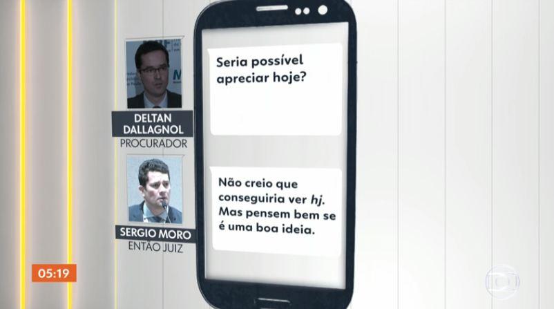 moro deltan - Site Intercept divulgou trechos de conversas entre Moro e Deltan Dallagnnol