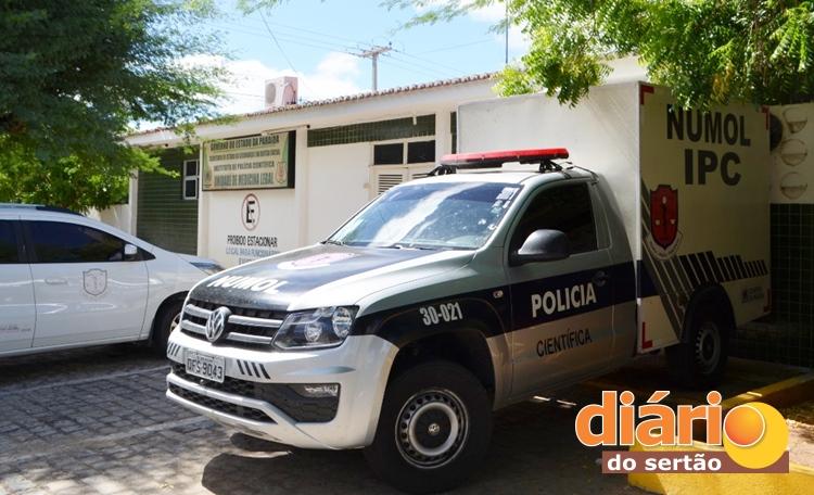 policia civil patos pb 3 - Moradora de rua morre ao ser atropelada por viatura da polícia - VEJA VÍDEO