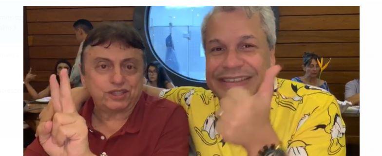 sikera 1 - Sikeira Júnior agradece João Gregório por confiança e manda recado: 'Se você está saindo do seu emprego, saia pela porta da frente' - VEJA VÍDEO