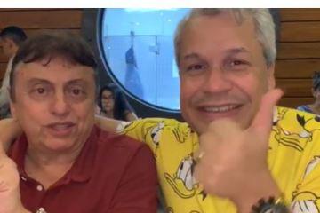 Sikeira Júnior agradece João Gregório por confiança e manda recado: 'Se você está saindo do seu emprego, saia pela porta da frente' – VEJA VÍDEO