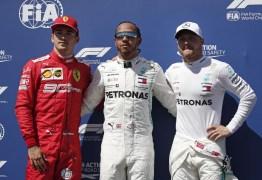 Na França, Lewis Hamilton garante nova pole position e supremacia da Mercedes na temporada