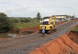 Desvio na rodovia entre Santa Rita e Cruz do Espírito Santos é Liberada para tráfego de veículos