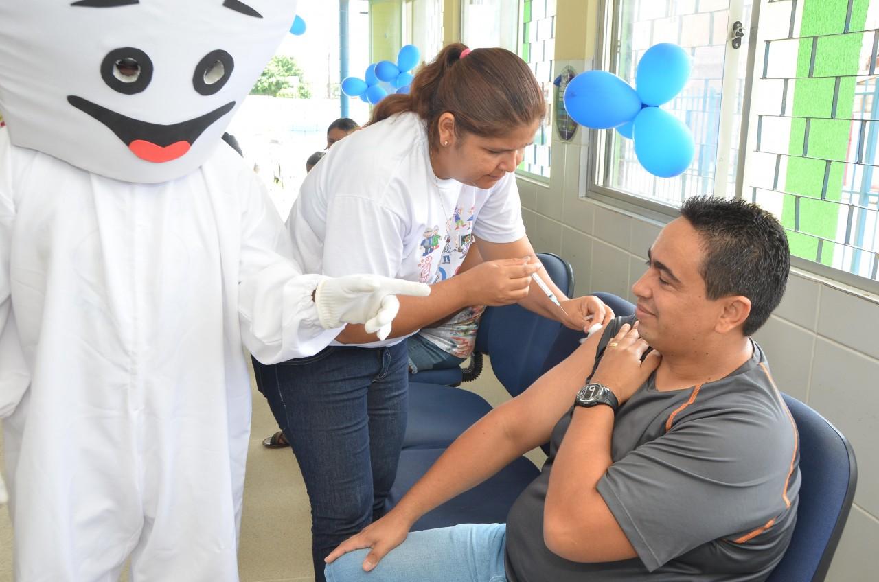 unnamed 2 - Santa Rita atinge meta da campanha de vacinação contra a gripe