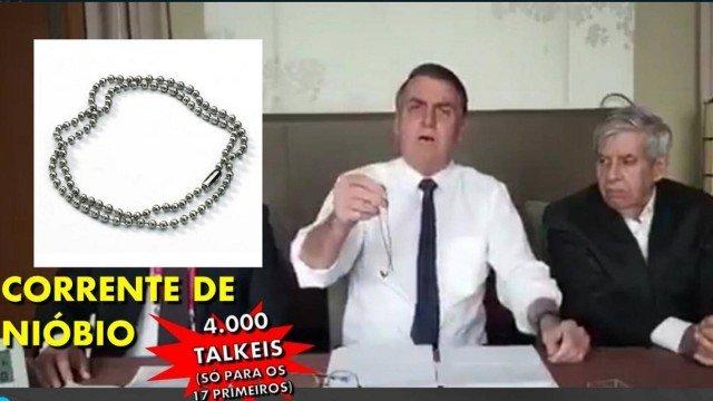xniobio1.jpg.pagespeed.ic .Dh1On1SGDc - Bolsonaro mostra bijuteria e talheres de nióbio de R$ 5,5 mil no Japão e vira meme - VEJA VÍDEO