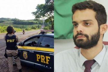 156354533479049 - NOTA OFICIAL: PRF da Paraíba esclarece multa e apreensão de veículo de advogado Gabriel Bulhões