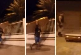 'Para comprar cachaça': homem é preso após furtar caixão – VEJA VÍDEO