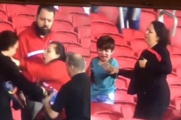 1 montag 12168345 - Torcedores do Inter agridem e roubam camisa de mãe e filho gremistas - VEJA VÍDEO