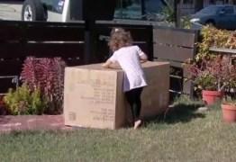 Criança de 2 anos compra sofá de mais de R$ 1.600 pelo celular da mãe