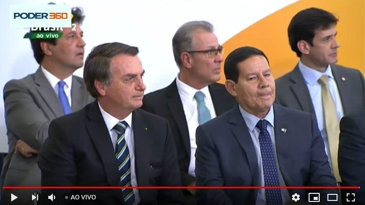 ACOMPANHE AO VIVO: Evento comemora 200 dias do governo Bolsonaro