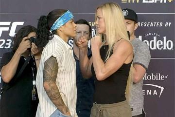 20190704213050384567u 300x200 - UFC: Holly se espelha em vitória sobre Ronda para encarar Amanda no tatame 'Sou a zebra'