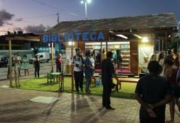 Biblioteca Comunitária da Praça do Mar em Jacumã é sucesso de público
