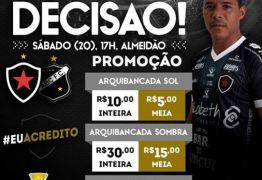 Diretoria do Botafogo-PB anuncia promoção de ingressos para lotar o Almeidão