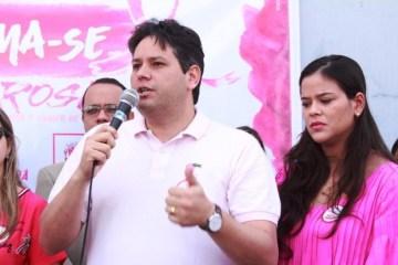 Dinaldinho Wanderley e esposa - BEM PÚBLICO PARA SERVIÇO PRIVADO: TJPB acata denúncias contra prefeito afastado de Patos e sua esposa
