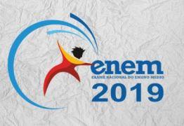 Encerram hoje a inscrições para trabalhar no ENEM 2019