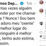 JULIAN LEMOS - 'ADORO O MEU OXENTE': Julian Lemos se pronuncia sobre fala de Bolsonaro