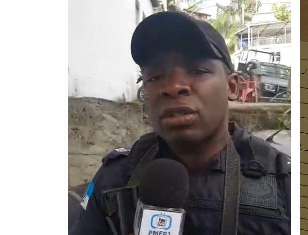 PM faz live durante operação policial no morro carioca: