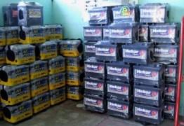 GANGUE DAS BATERIAS: bandidos invadem loja de baterias, prendem funcionários e roubam mercadorias no Cristo
