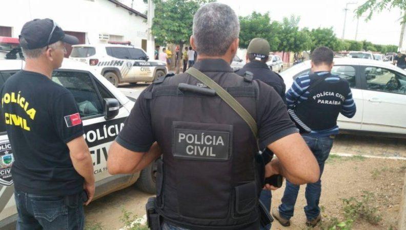 Polícia Civil operação 1 - OPERAÇÃO CAIXA DE PANDORA: Polícia Civil cumpre mandados contra bando suspeito de tráfico de drogas na PB