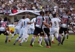 Botafogo-PB empata com ABC e chega ao quinto jogo seguido sem vencer