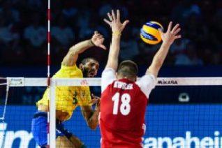 Seleção masculina 1 1024x682 300x200 - VOLÊI: Brasil perde para a nova geração polonesa na Liga das Nações