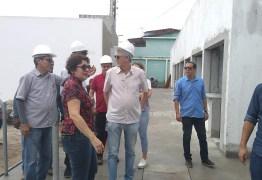 Prefeita Márcia Lucena visita obras na cidade acompanhada do Ex-Governador Ricardo Coutinho