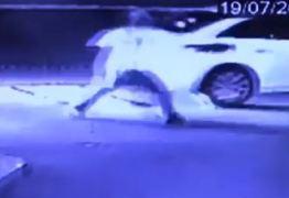 Motorista arranca bomba de combustível em posto na cidade de Guarabira – VEJA VÍDEO