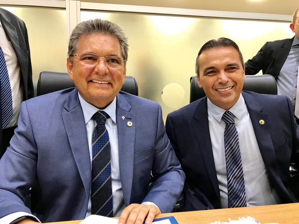 adriano galdino genival matias - Genival Matias convida presidente da ALPB para se filiar ao Avante e Galdino pode deixar PSB