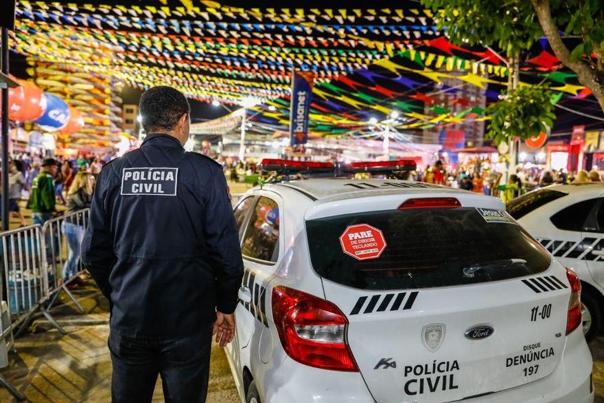 Onze pessoas foram presas através da tecnologia de reconhecimento facial no São João de Campina