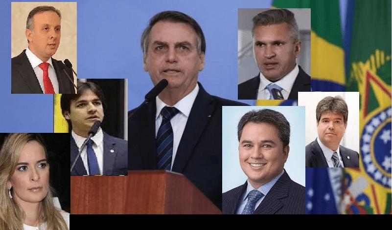 bancada bolsonarista - Maioria da bancada paraibana silencia sobre os ataques de Bolsonaro ao Nordeste e os nordestinos - Por Flávio Lúcio