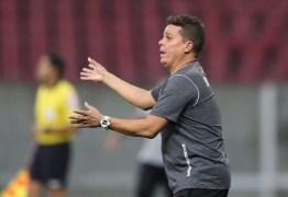 Evaristo Piza relata gosto ruim após empate com o Santa Cruz