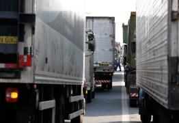 Governo suspende tabela de fretes rodoviários após ameaça de greve de caminhoneiros