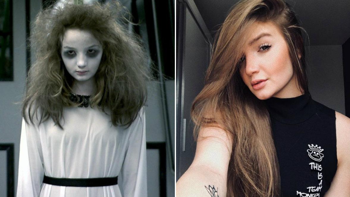 collage - 'Menina Fantasma' do SBT faz sucesso nas redes sociais com fotos sensuais
