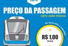 Tarifa de trem e VLT será reajustada para R$ 1,00 no próximo domingo