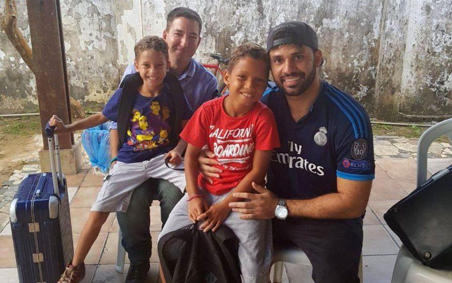 daviglenn e1564394171891 - Consulado dos EUA nega visto para filhos de Glenn visitarem a avó com câncer