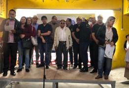 Ao lado do prefeito João Francisco, deputado Eduardo Carneiro participa de inauguração de mercado público em Areia
