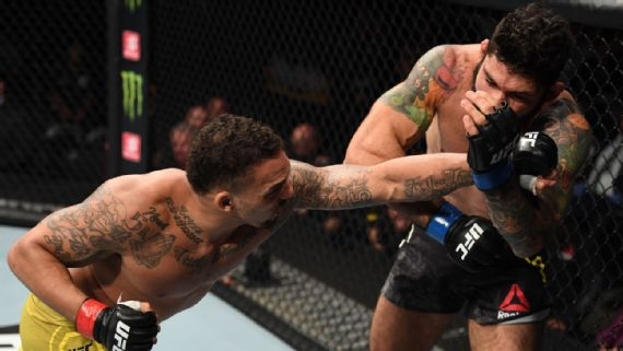 i - UFC: Mamute é suspenso por seis meses após sofrer nocaute em Minneapolis