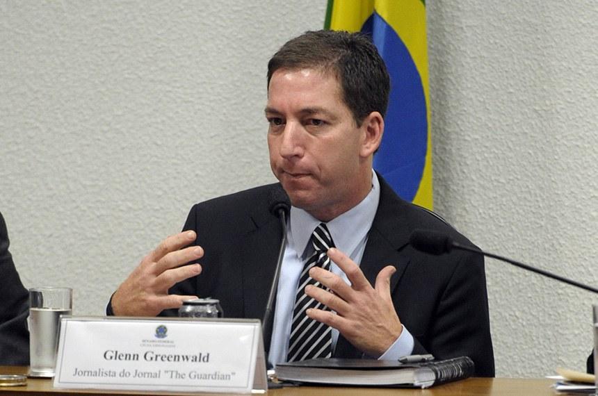 imagem materia - Audiência com Glenn Greenwald no Senado foi cancelada sem justificativa