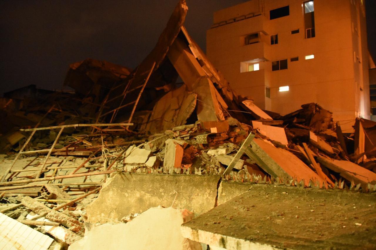 img 20190711 wa0007 - Câmeras flagram momento em que prédio anexo do Hospital Samaritano desaba ; VEJA VÍDEO