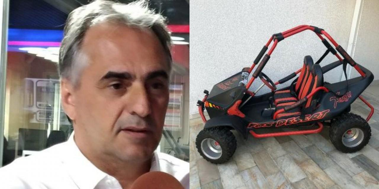 lucélio mini buggy - ESTÁ NA UNIMED: Lucélio Cartaxo deixa Trauma e segue internado em hospital particular após acidente de mini buggy