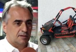 ESTÁ NA UNIMED: Lucélio Cartaxo deixa Trauma e segue internado em hospital particular após acidente de mini buggy