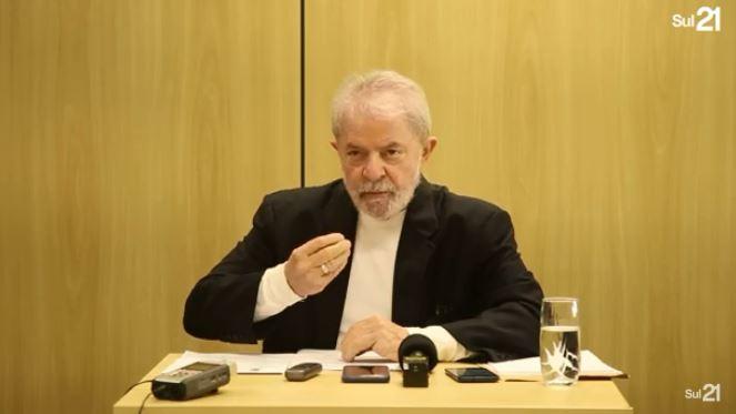 lulasul21 - Lula concede nova entrevista: 'Moro está se transformando em um boneco de barro' - VEJA VÍDEO