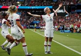 Seleção dos EUA vence a Holanda e é a campeã da Copa do Mundo Feminina