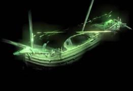 SEMELHANTE À EMBARCAÇÃO DE CRISTOVÃO COLOMBO: Navio de 500 anos é encontrado no mar báltico em perfeito estado