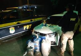 Universitário preso com R$ 26 mil e 38kg de maconha já tinha sido preso pela PRF